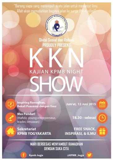 Kajian KPMB Night Show